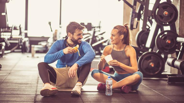 Какво да не ядем след тренировка
