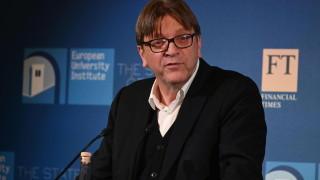 Европа не трябва да повтаря Брекзит, призова Ги Верхофстат