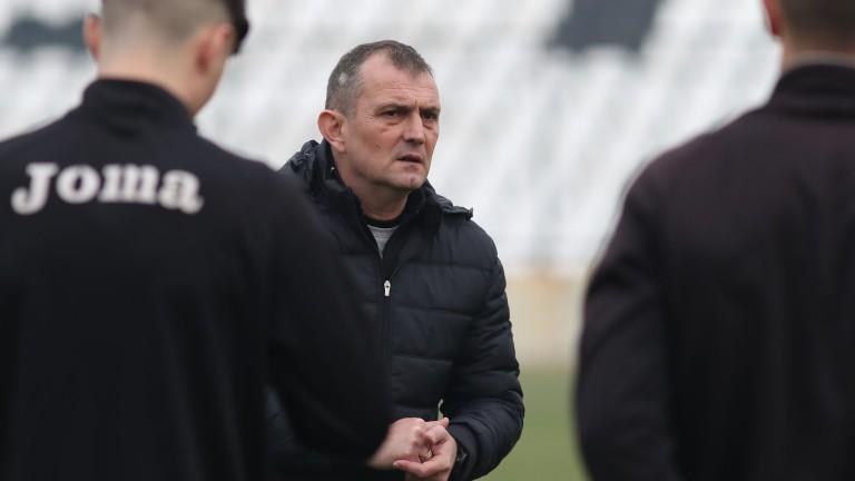 Групата на Славия за гостуването на Локомотив (Пд)