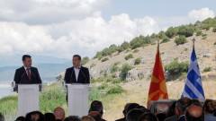 Македонското правителство одобри договора с Гърция, внася го в парламента