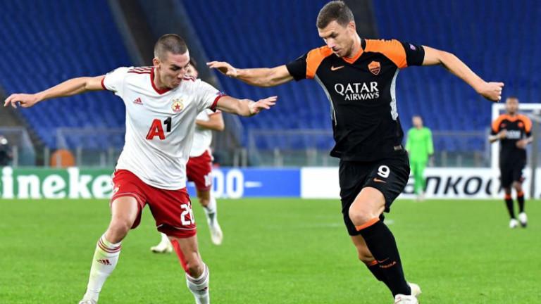 Поредно напрежение между Джеко и треньора на Рома