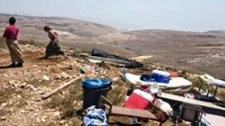 Арести на Западния бряг заради незаконните жилища