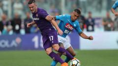 """Наполи катастрофира във Флоренция, отдалечи се отново от титлата в Серия """"А""""!"""