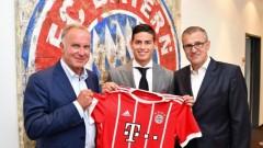 Хамес Родригес вече е в Мюнхен