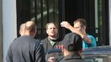 Освобождаването на Полфрийман - влизане на съда с бутонките срещу прокуратурата