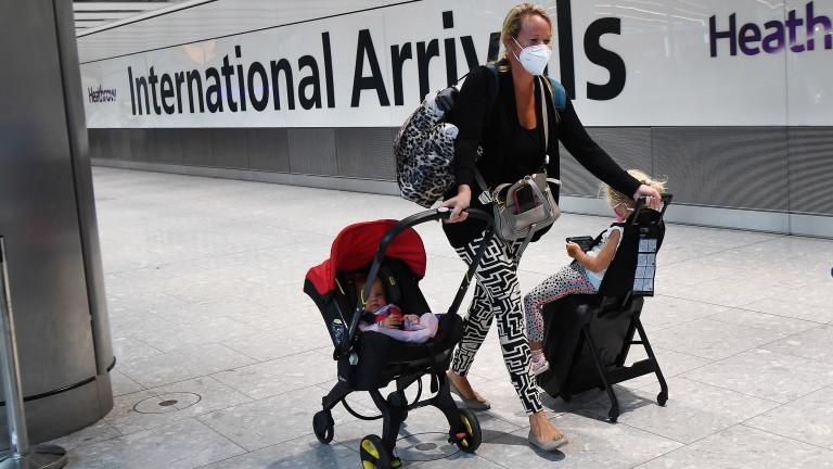 Британският държавен секретар по транспорта Грант Шапс обяви в четвъртък,