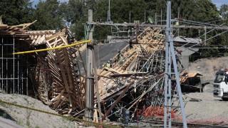 В Швеция рухна железопътен мост, има ранени