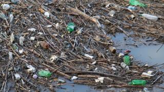 """Тонове боклуци покриха бреговете на язовир """"Кърджали"""""""