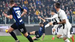 Роналдо с нов гол за Ювентус, само точка за Старата госпожа срещу Интер