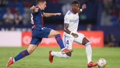 Леванте и Реал завършиха 3:3 в Ла Лига