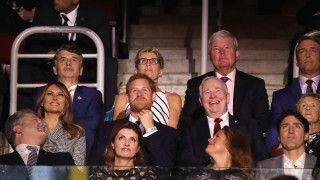 Принц Хари и Меган Маркъл за първи път заедно на събитие
