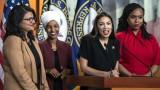 Тръмп прокарва дневния ред на белите националисти, бесни засегнатите конгресменки
