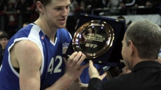 Травис Питърсън – MVP на финалите на Балканската лига