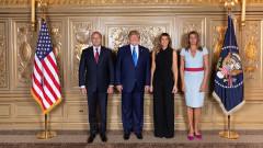 Инвестициите и сигурността обсъдиха Радев и Тръмп