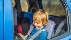 На 90% от хората не знаят до кога децата трябва да се возят в детско столче в кола
