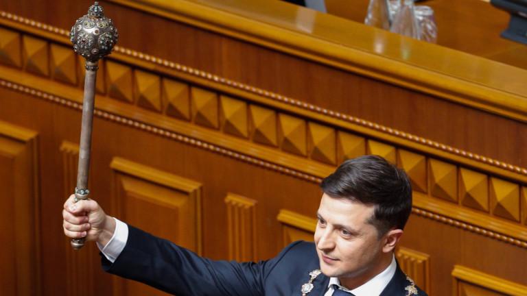 Петиция за оставката на президента на Украйна Володимир Зеленски е