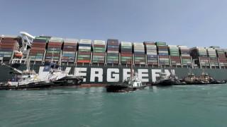 Египет задържа контейнеровоза Ever Given, иска $1 млрд. компенсации