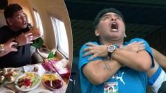 Диего Марадона между две текили: Кучи синове, не съм получил инфаркт!