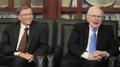 Милиардерите Уорън Бъфет и Бил Гейтс разкриват най-важните си бизнес решения