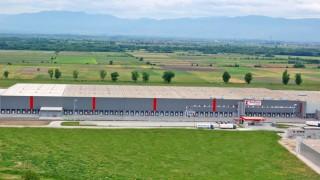 Най-големият логистичен център в България струва 165 милиона лева и е на 152 км от София