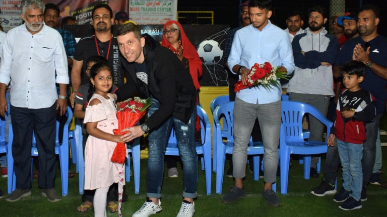 Българскиятдиректор на футболна академия в Индия Димитър Пантев даде интервю