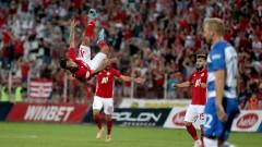 ЦСКА - Осиек 1:0, невероятен гол на Евандро!