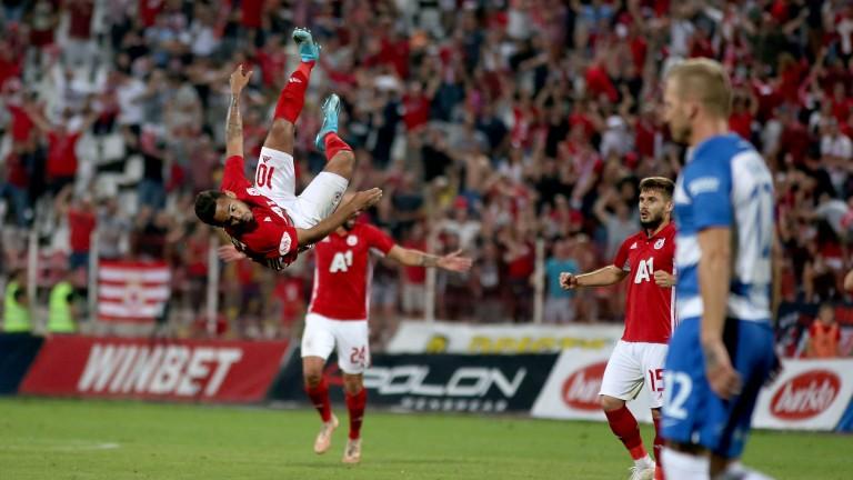 Бразилският нападател на ЦСКА Евандро тренира с отбора, но до