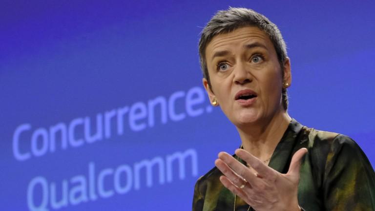 ЕС глоби Куалком с €1 млрд.
