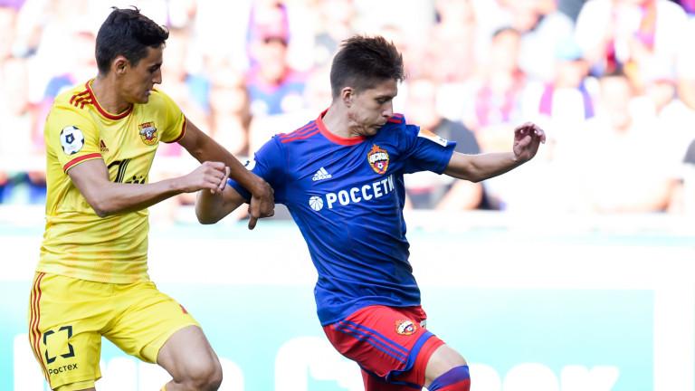 Георги Костадинов с цял мач при равен на Арсенал (Тула)