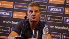 Емил Костадинов: Огорчен съм от цялостното представяне на националния отбор