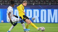 """След наказателна акция на Халанд срещу Брюж: Борусия (Дортмунд) на върха в Група """"F"""""""