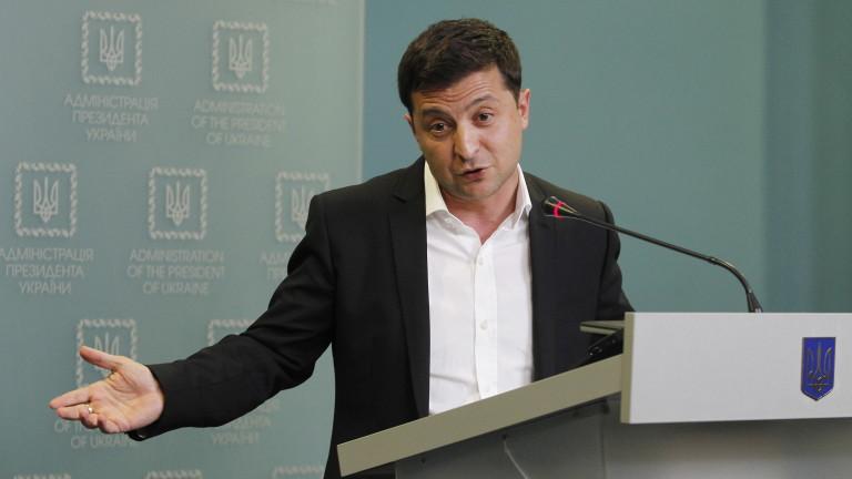 Зеленски поиска среща с Путин за прекратяване на войната в Източна Украйна