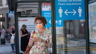 Коронавирус: Спад на новите случаи в Швеция до нивата от май