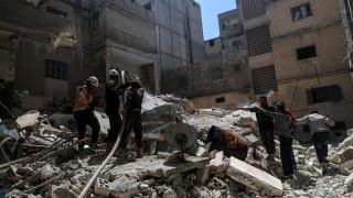 9 убити при атака срещу училище в Идлиб, 5 от жертвите са деца