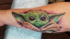 Бебе Йода - новата мода при татуировките