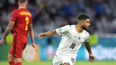 Италия излъга Белгия и се класира за полуфиналите на Евро 2020