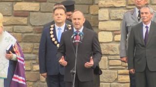 Радев: От нашата воля зависят свободата и независимостта на България