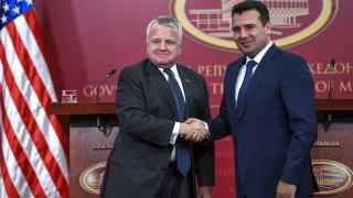 Джон Съливан: С нетърпение очакваме Северна Македония в НАТО