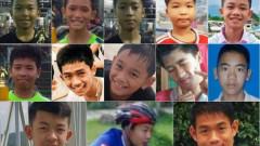 Спасените в Тайланд момчета отслабнали с по 2 кг