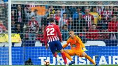 Атлетико (Мадрид) бързо се завърна на победния път