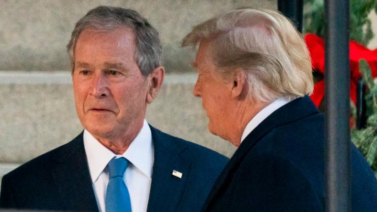 Тръмп критикува призив на Буш за единство на фона на коронавируса