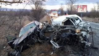 Тежка катастрофа на пътя Симитли-Разлог