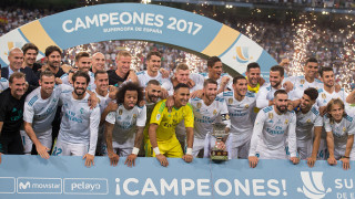 Реал пак скри топката на Барса и вдигна Суперкупата на Испания! (ВИДЕО)