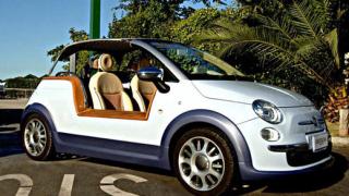 Fiat 500 Tender Two – електрически плажен автомобил