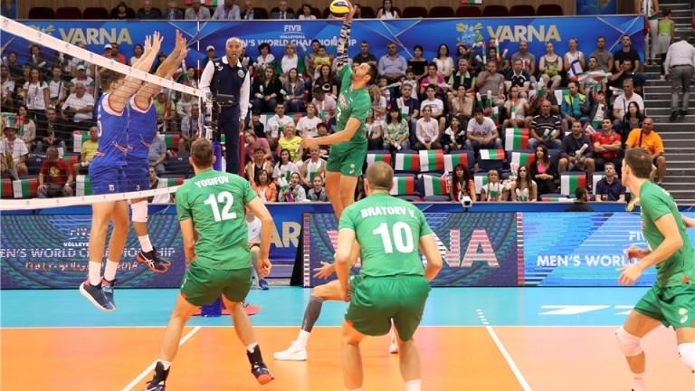Днес се подновяват срещите от 19-то Световно първенство по волейбол