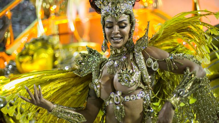 Лудостта на карнавала в Рио