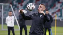 Още един от титулярите на Лудогорец срещу Антверп в Лига Европа е вече ясен