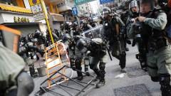 Над 50 души са пострадали при сблъсъци в Хонконг