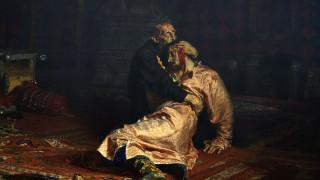 Вандал разказа защо е наранил картина на Иля Репин
