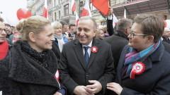 Полските лидери честват с крайнодесни Деня на независимостта